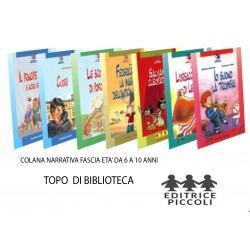 COLLANA TOPO DI BIBLIOTECA - PICCOLI -